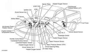 Computerized Engine Controls  Toyota Sequoia 2001 Repair