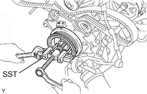 Service manual [Cam Belt Replacement 2008 Toyota Sequoia