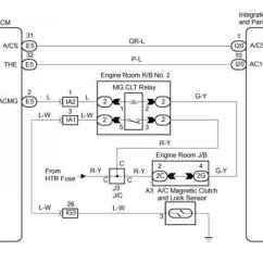 4age 16v Wiring Diagram Simple Leaf Cross Section Sienna Ac Low Pressure 2000 Toyota Sequoia 2004 Repair Compressor