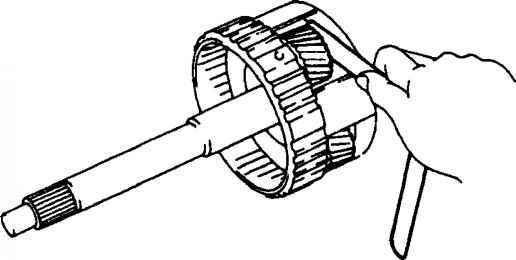Od Planetary Gear Od Direct Clutch Od Oneway Clutch