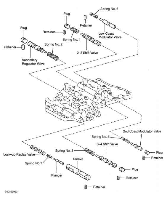 A340e Toyota Transmission Diagram - Auto Electrical Wiring ... on