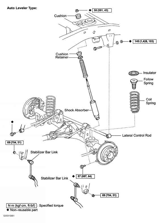 2002 Toyota Tacoma Front Suspension Diagram