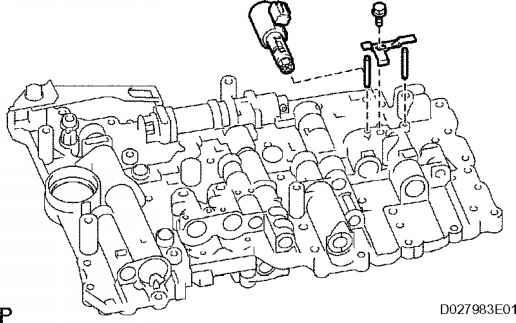 [Repair Manual Transmission Shift Solenoid 2012 Toyota
