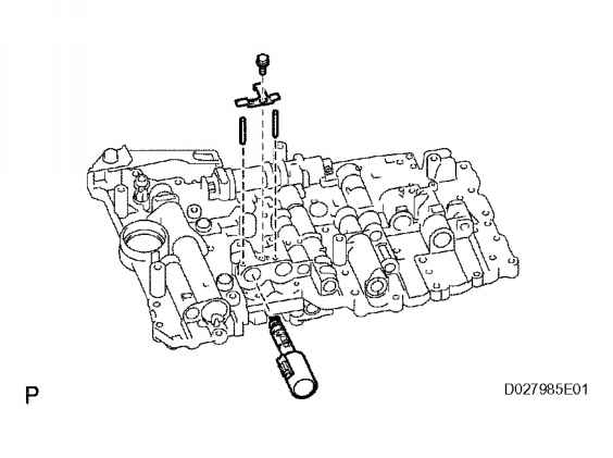 Toyota Tacoma V6 Automatic Transmission Diagram