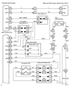 2002 Toyota Sequoia Wiring Diagram  Toyota Sequoia 2006