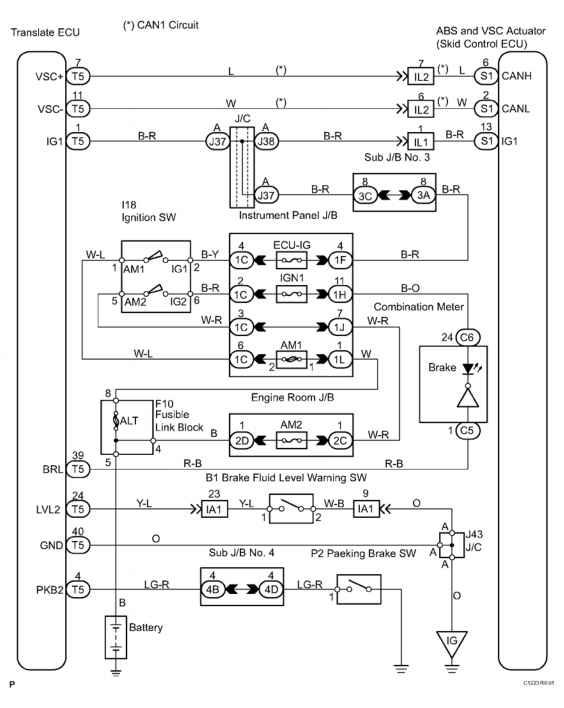 toyota hilux brake light wiring diagram