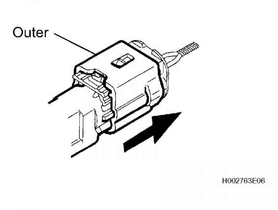 Disconnection Of Connectors For Side Airbag Sensor And