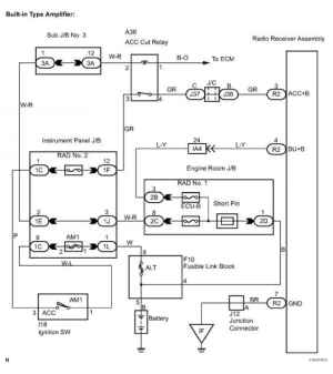 Taa Stereo Wiring Diagram  Toyota Sequoia Equipment