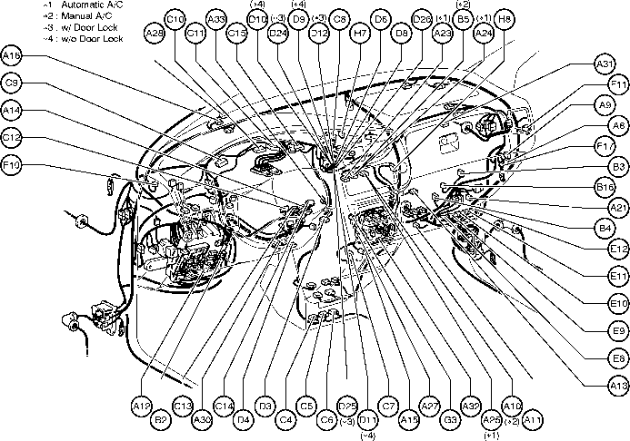 2001 Nissan Sentra Serpentine Belt Diagram, 2001, Free