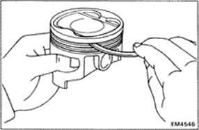 Inspection Of Piston And Connecting Rod Assemblies