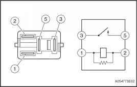 Inspect Air Fuel Ratio Sensor Heater Relay Af Heater Relay