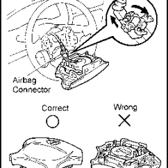 Steering Wheel Diagram Ford F 150 Firing Order How To Disassemble On 96 Toyota Tercel Airbag Connector