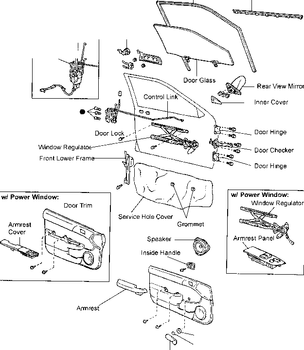 Sequoia Door Lock Actuator Wiring Diagram Pioneer Car