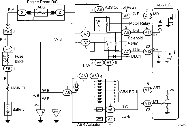 wiring diagram for stop lights