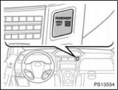 Occupant classification system toyota