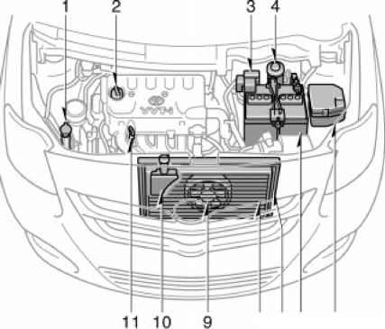 2007 Yaris Engine Diagram. Engine. Auto Parts Catalog And