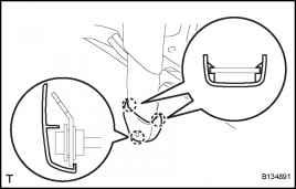 Toyota Rav4 Connector Lock Seat Belt Pretensioner Locking