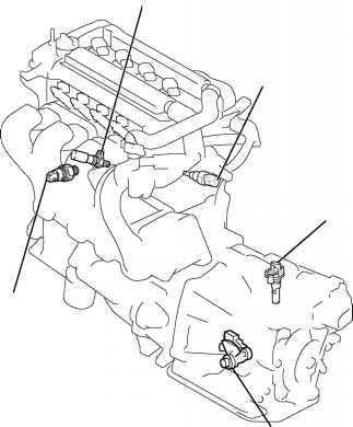 2007 Toyota Corolla Manual Transmission Diagram, 2007