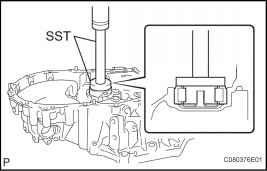 4. INSPECT REVERSE IDLER GEAR SUB-ASSEMBLY
