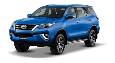 Fortuner Nebula Blue
