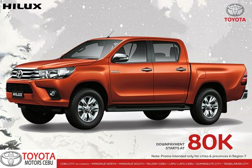 Toyota Hilux November 2018 All In Promo