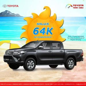 toyota hilux april 2019 promo