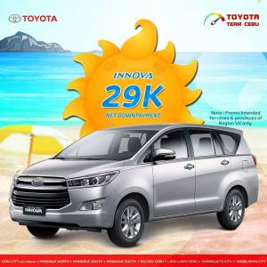 toyota innova april 2019 promo