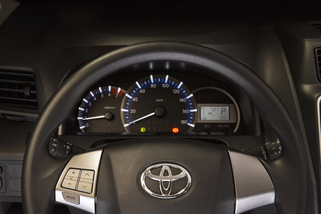 Toyota Avanza 2019 instrument panel