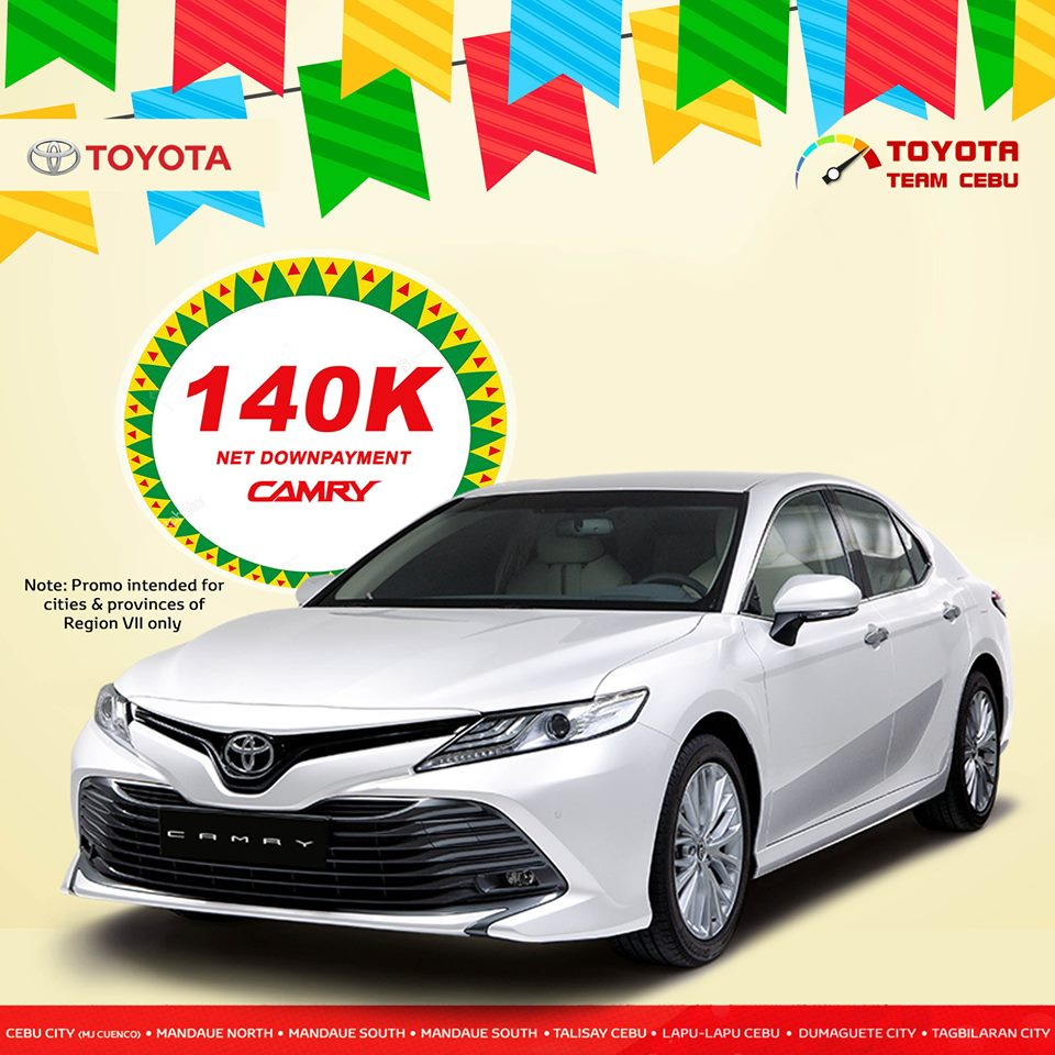 toyota camry may 2019 promo