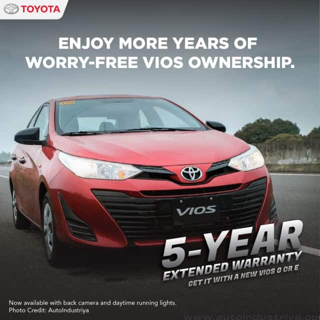 FREE PERIODIC MAINTENANCE SERVICE WHEN YOU PURCHASE A VIOS