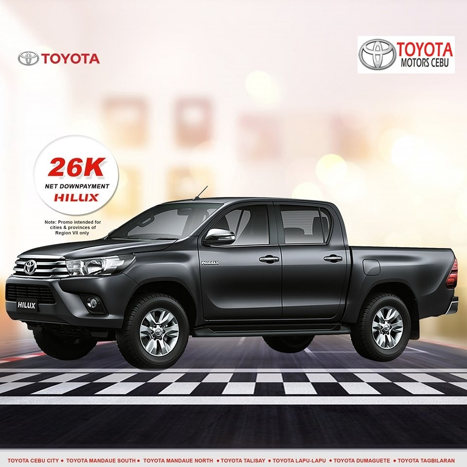 toyota hilux october 2019 latest promotional offer in toyota philippines cebu