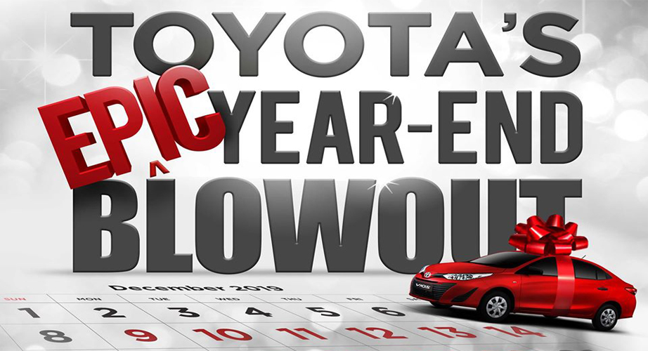 Toyota Cebu Philippines December 2019 Promotion