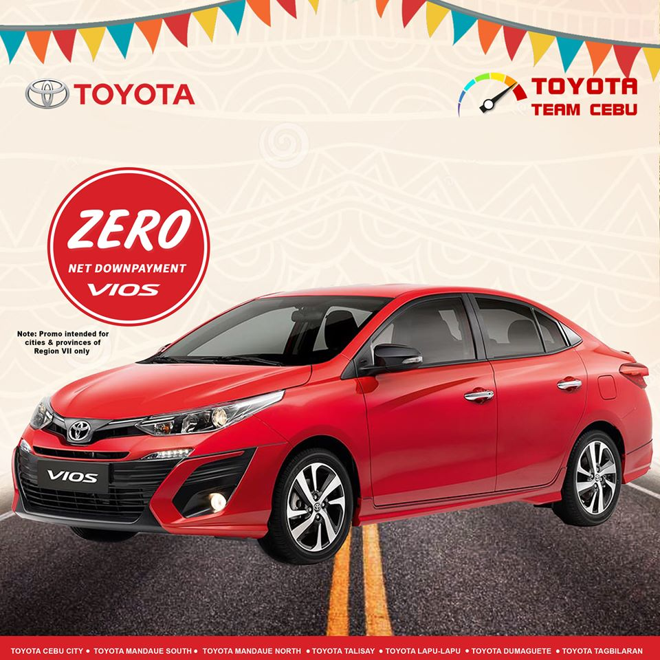 toyota vios january 2020 cebu promotion