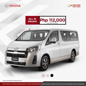 Hiace August 2020 Promotion