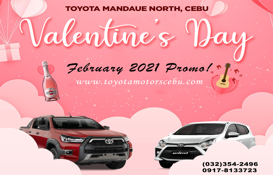 Toyota Motors Cebu February 2021 Promotions