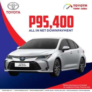 Toyota Corolla Altis March 2021 Promotion