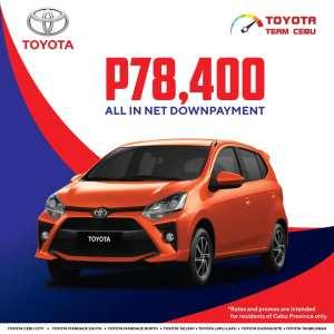 Toyota Wigo March 2021 Promotion