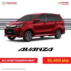 Toyota Avanza April 2021 Promotion