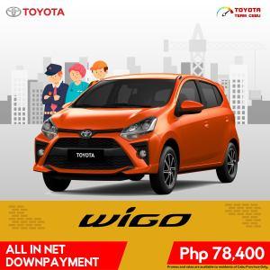 Toyota Wigo May 2021 Promotion