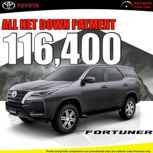 Toyota Fortuner June 2021 Promotion