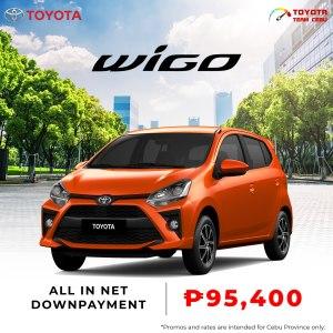 Toyota Wigo July 2021 Promotion