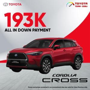 Toyota Corolla Cross August 2021 Promotion