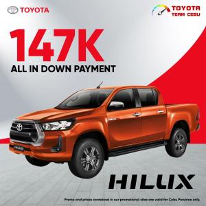 Toyota Hilux August 2021 Promotion