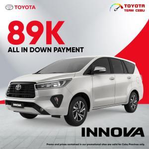 Toyota Innova August 2021 Promotion