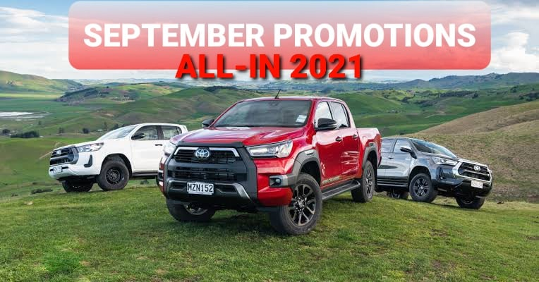Toyota Motors Cebu September 2021 Promotions