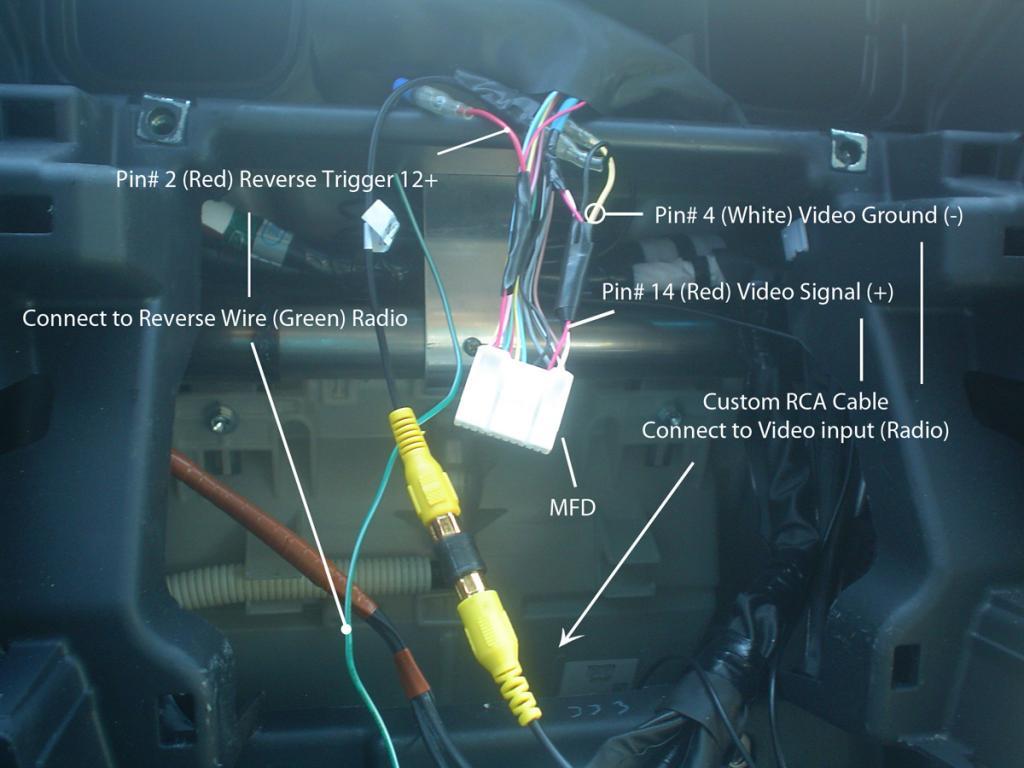 hight resolution of backup camera to radio diagram a jpg