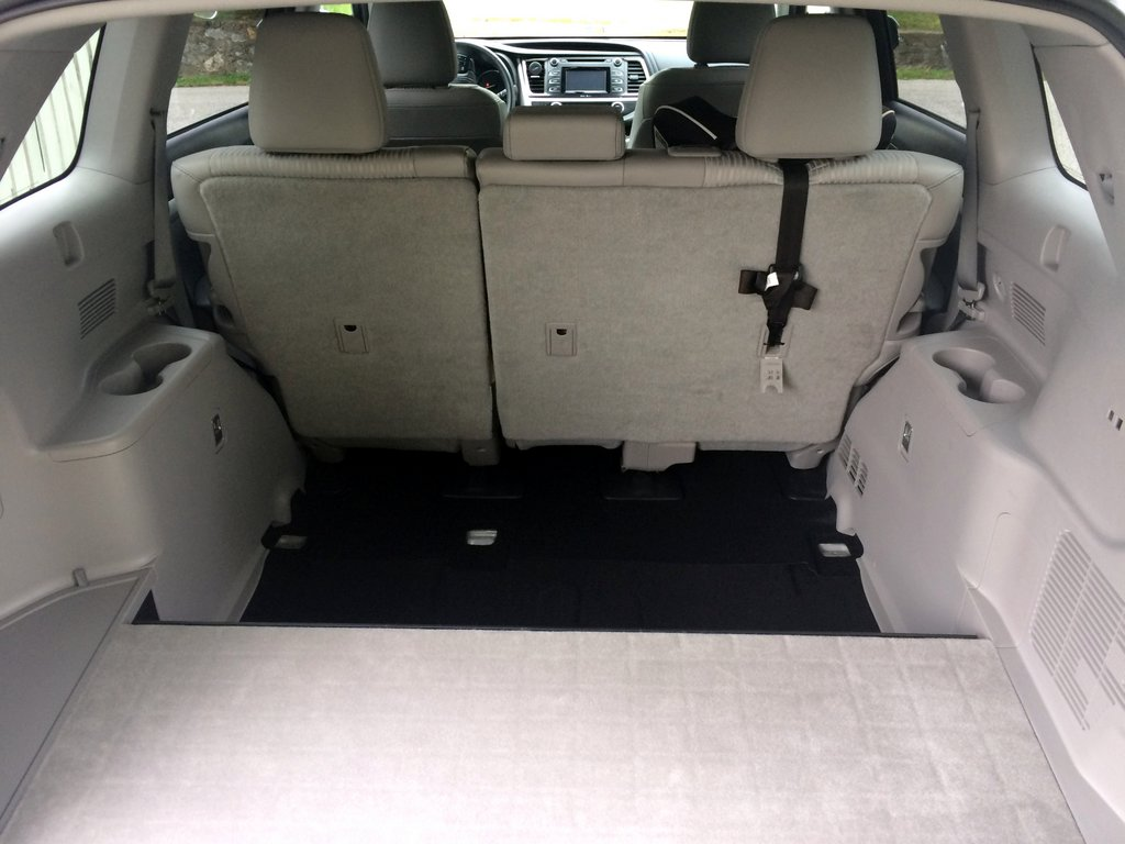 toyota sienna captains chairs removal dining room chair covers the range 2014 highlander 3rd row seats removed nation