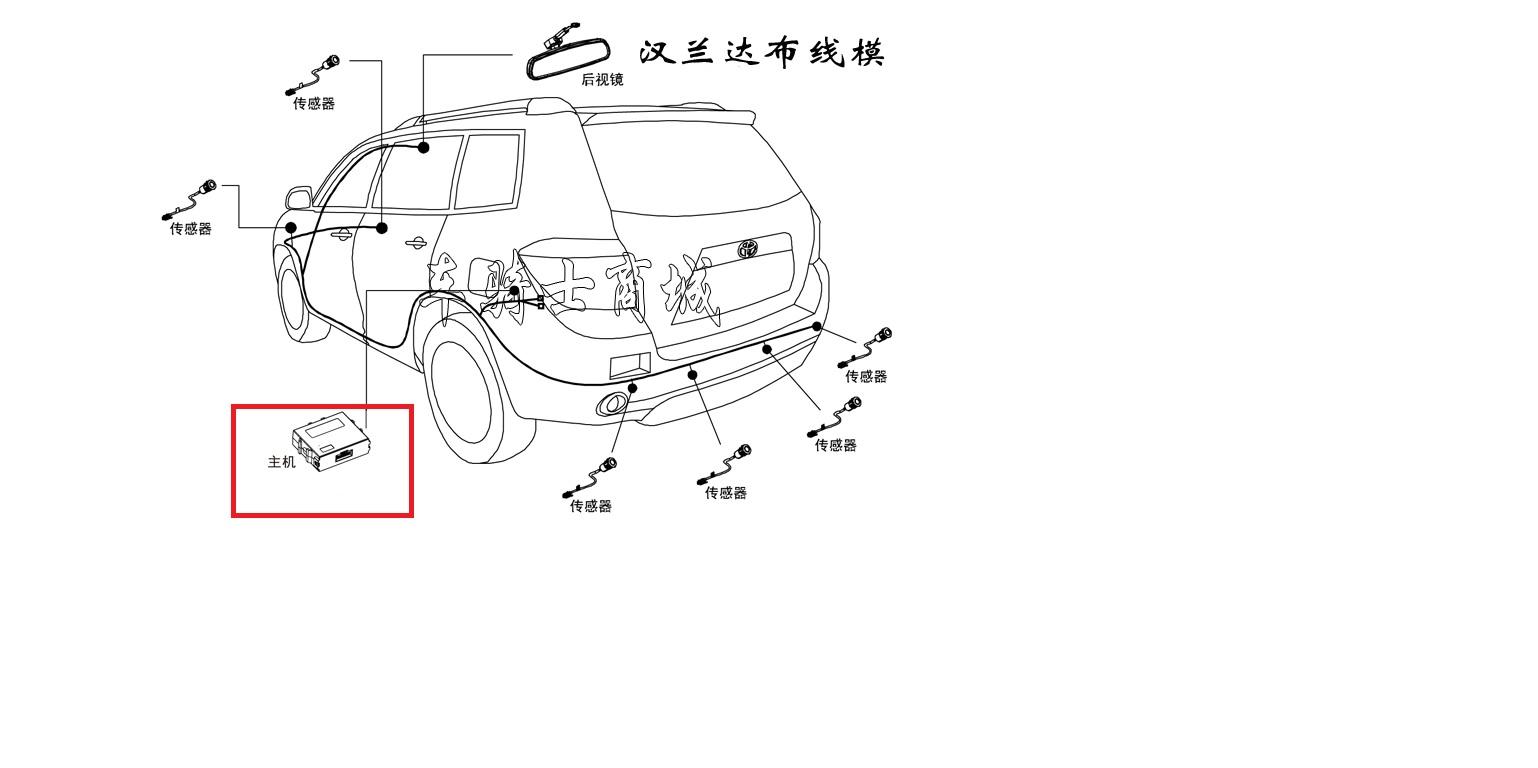 Front Parking Sensor Wiring Diagram. Crankshaft Position