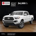 2020 Toyota Tacoma Trd Sport Offer