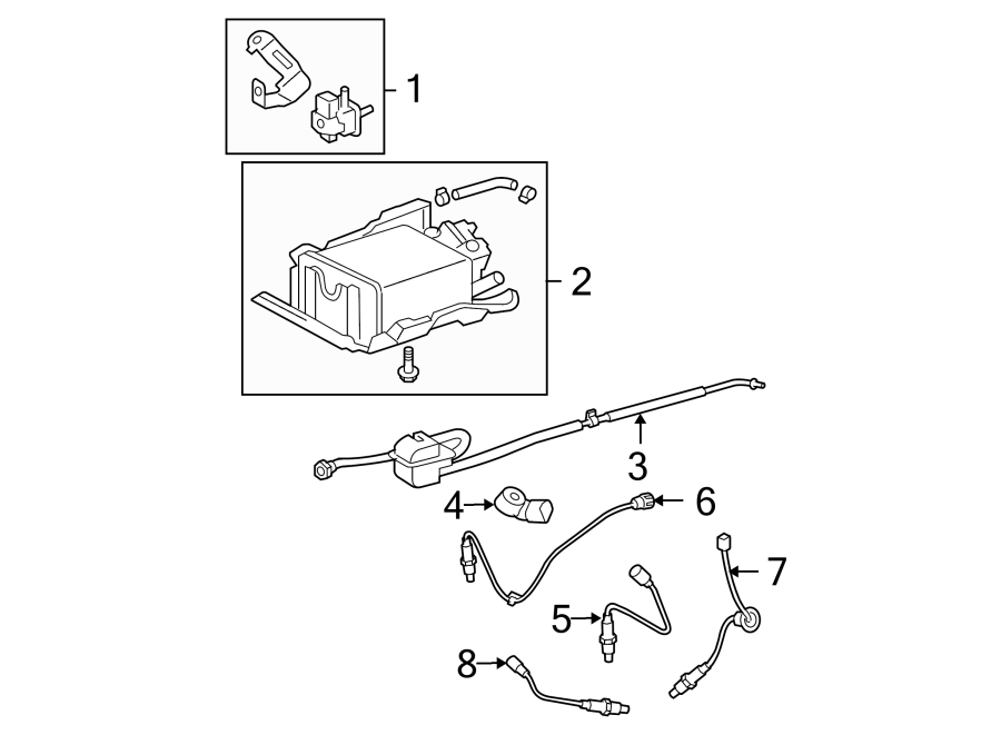 Toyota RAV4 Ignition Knock (Detonation) Sensor. LITER